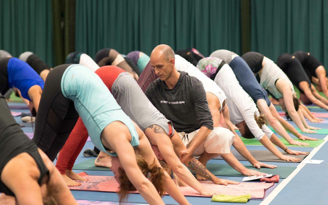 Yoga is geen sport !