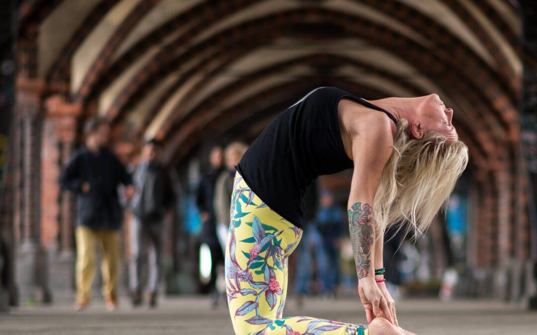 Yogawheel: Shoulderopening